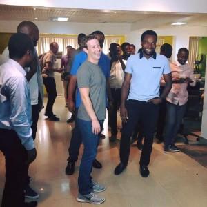 Mark zuckerberg in Nigeira