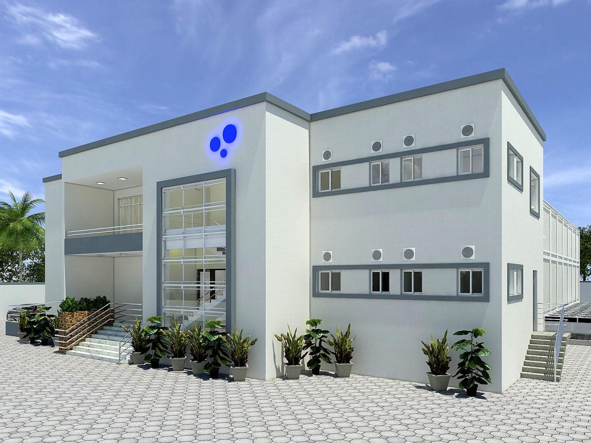 Architectural Image of MDXi Lekki II data center