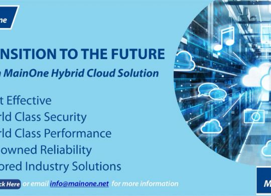 MainOne offers unparalleled Hybrid Cloud solutions for banks, microfinance institutions across West Africa