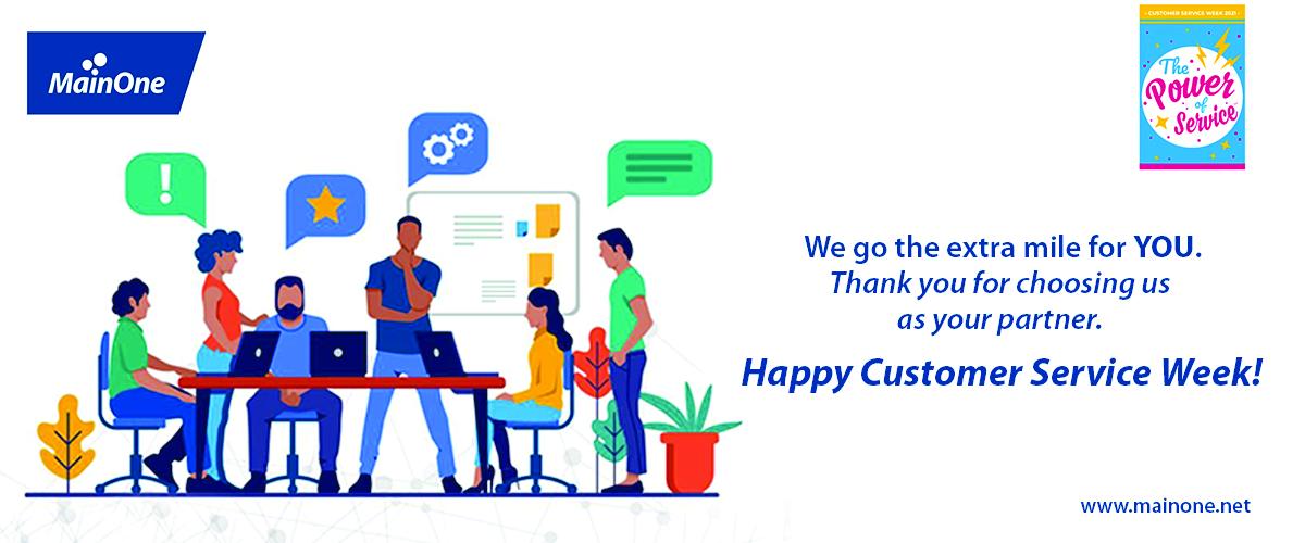 MainOne Customer Service Week 2021